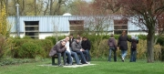 Gymnase vu de l'extérieur
